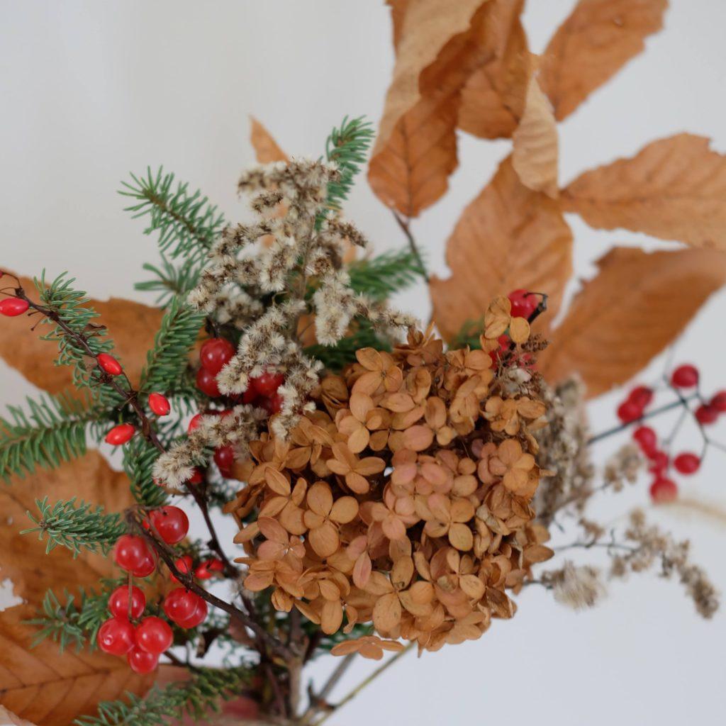 fleurs séchées magog