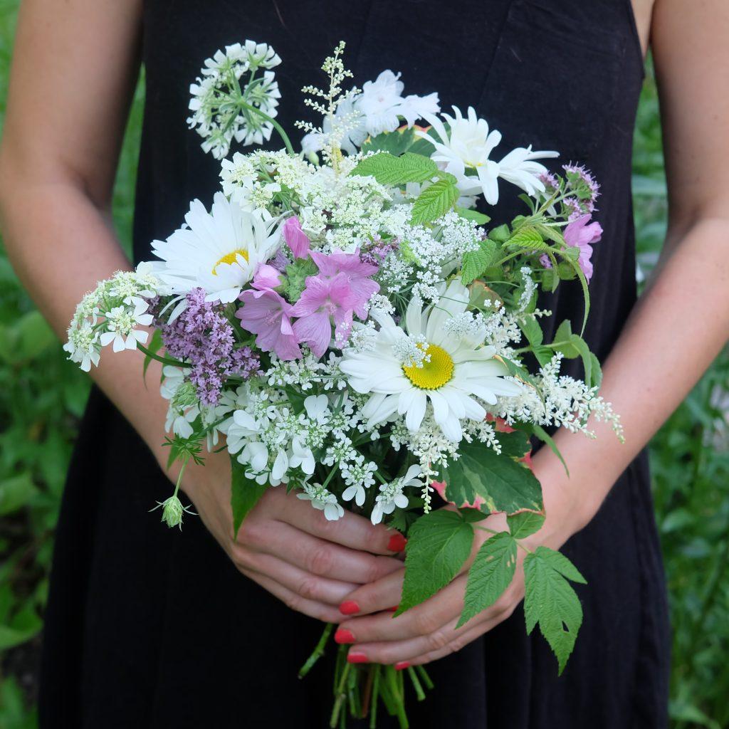 bouquet marguerite cantons-de-l'Est magog fleuriste