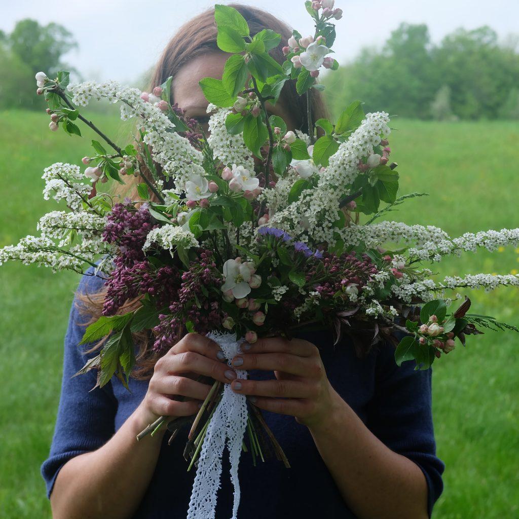 bouquet mariage écoresponsable printemps Magog