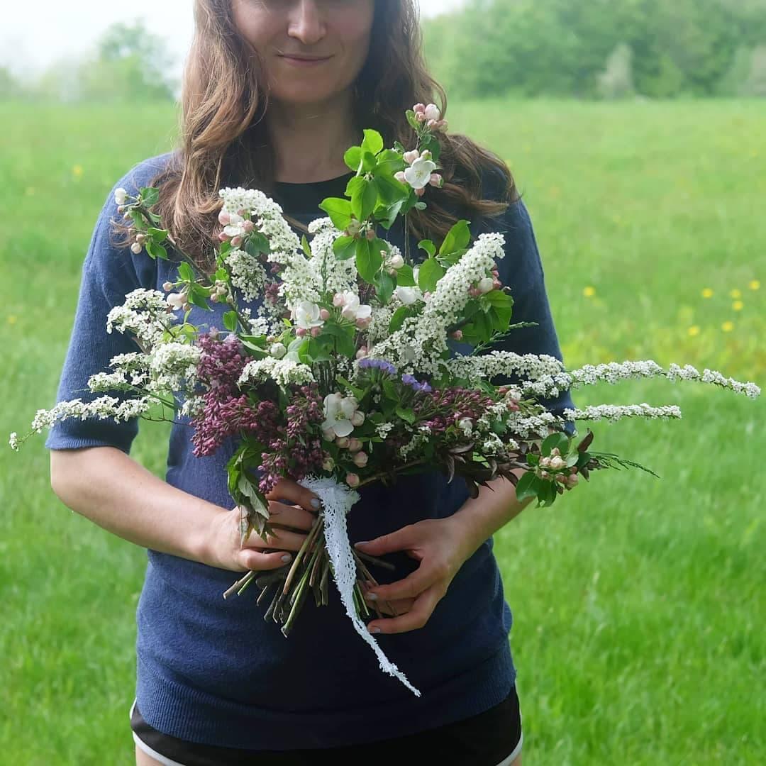 bouquet de la mariée printemps