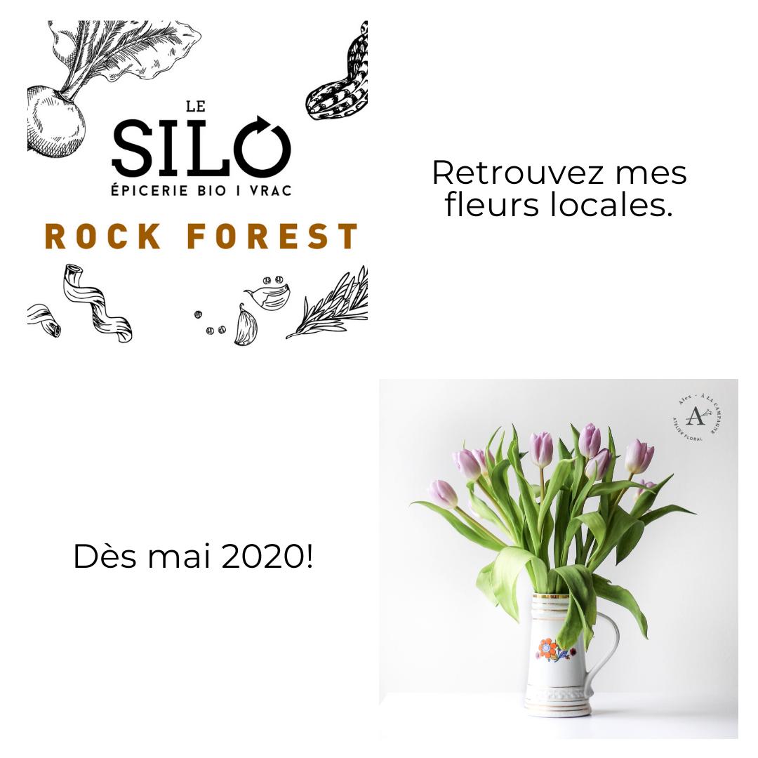Le silo sherbrooke fleurs locales