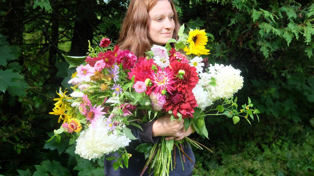 fermière fleuriste fleurs magog