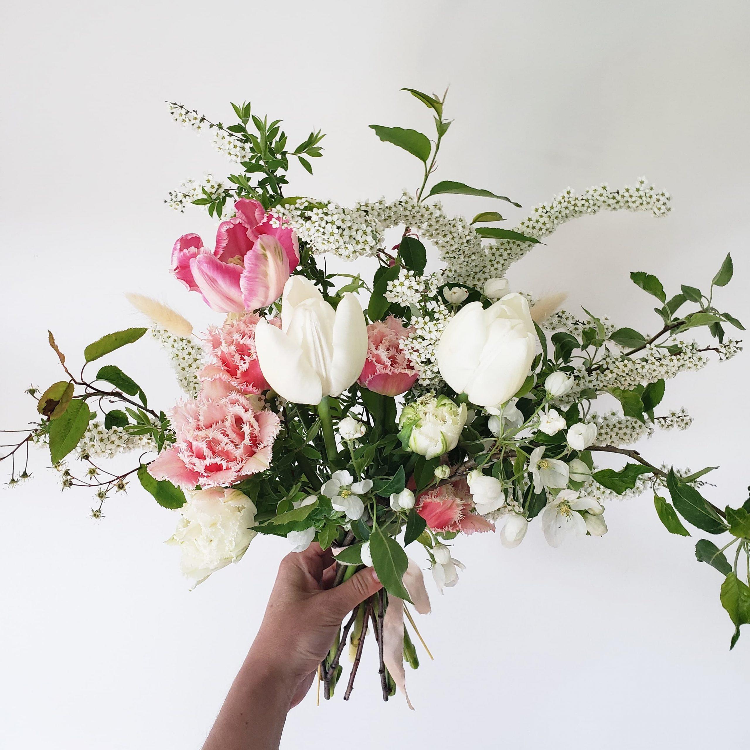 bouquet mariage printemps