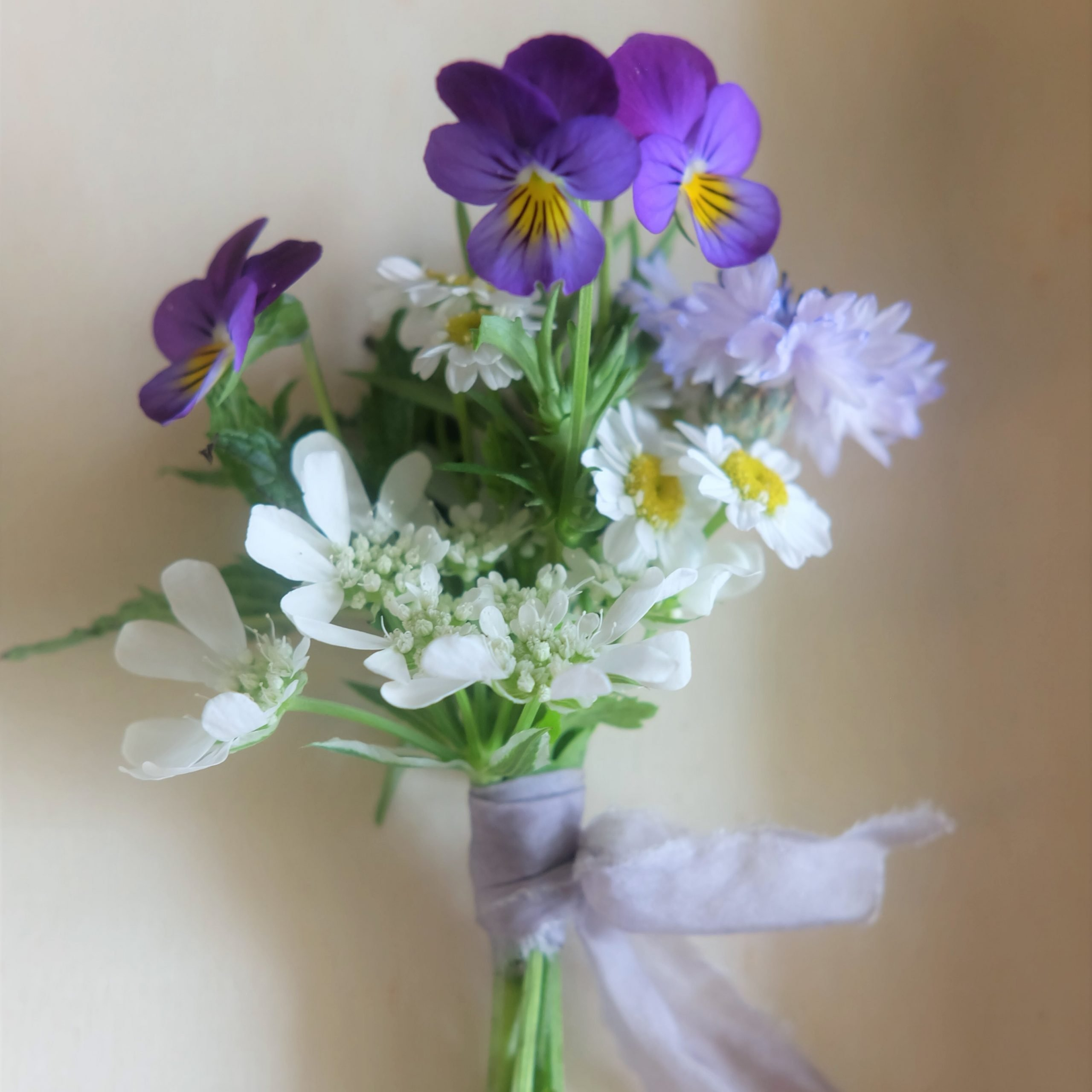 mini bouquet bleu