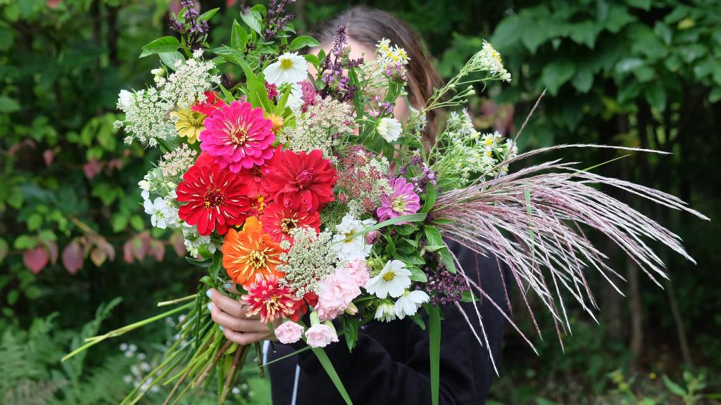 atelier jardin de fleurs à couper