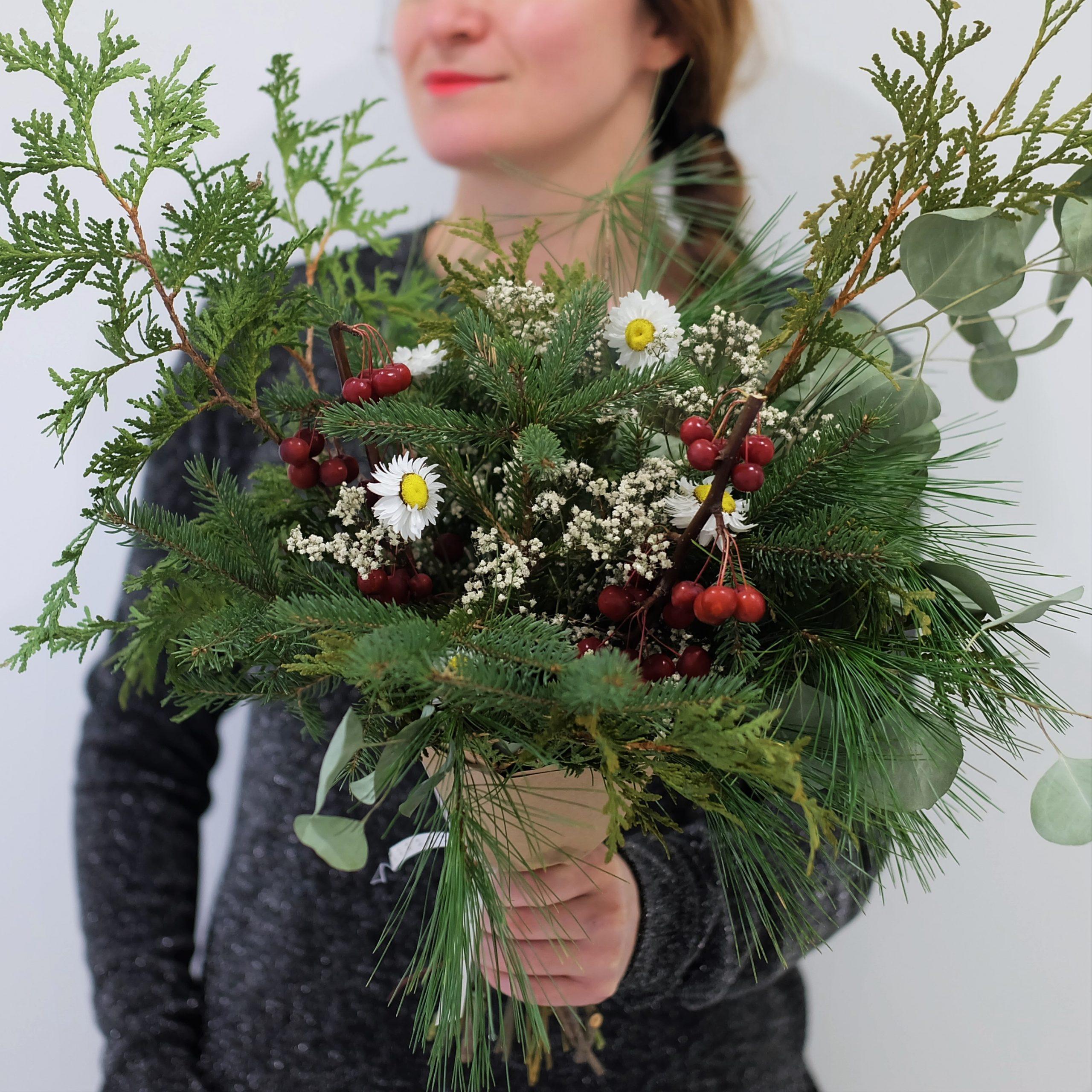 bouquet Noel magog
