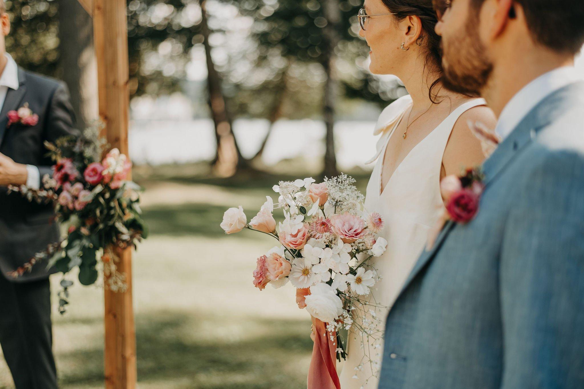 fleurs mariage cantons de l'est