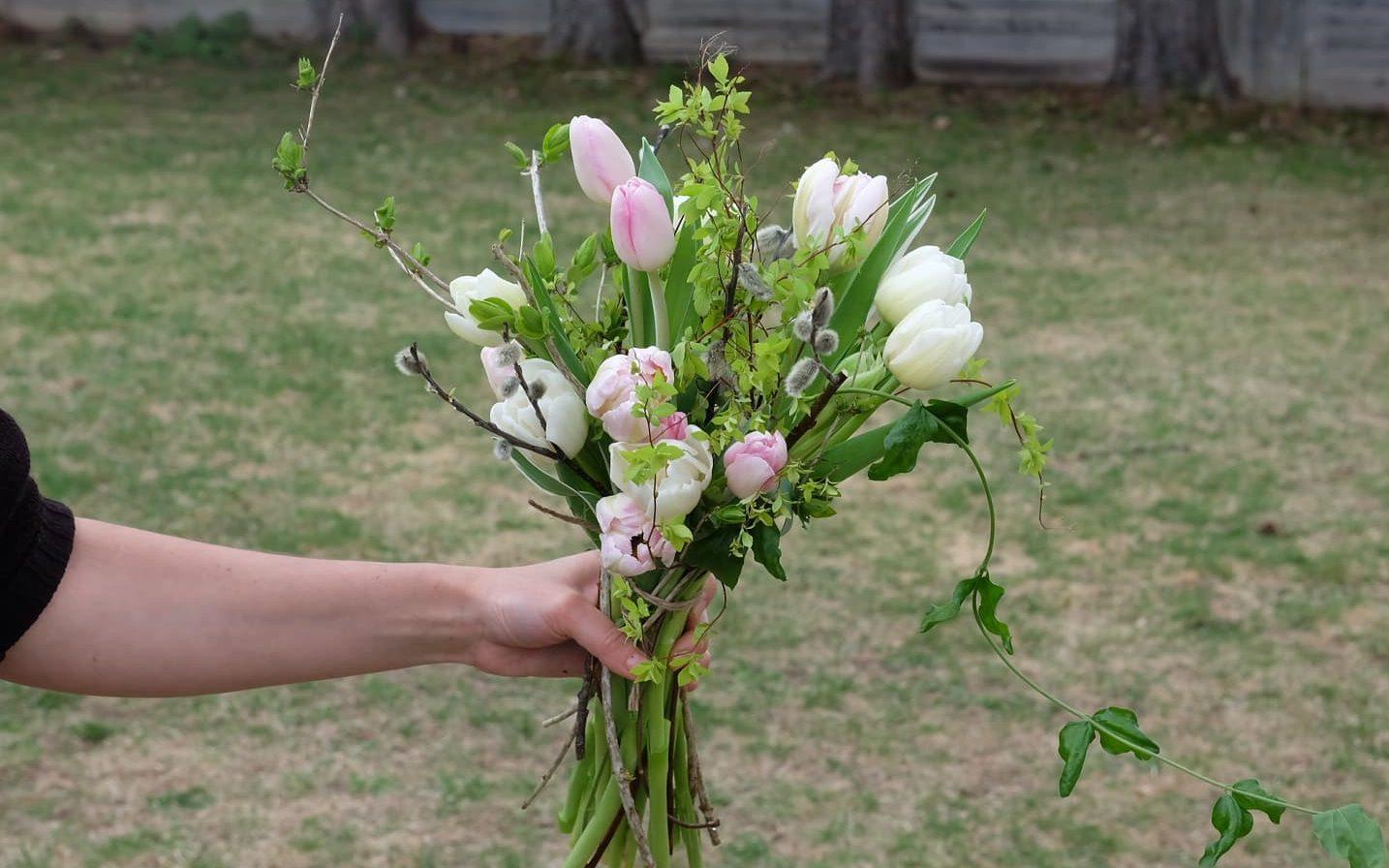 fêtes des mères magog tulipes fleurs locales