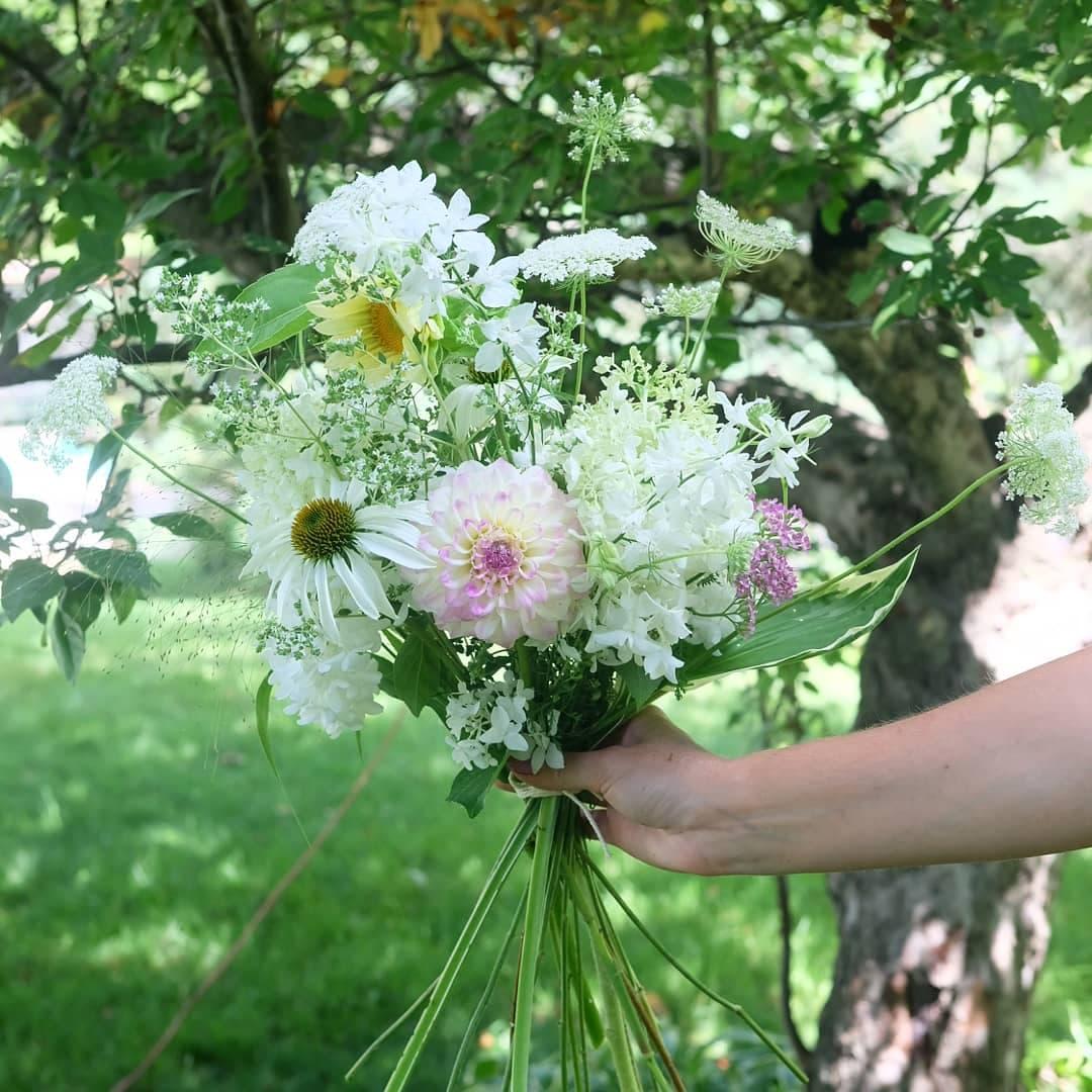 bouquet écoresponsable fleuriste magog