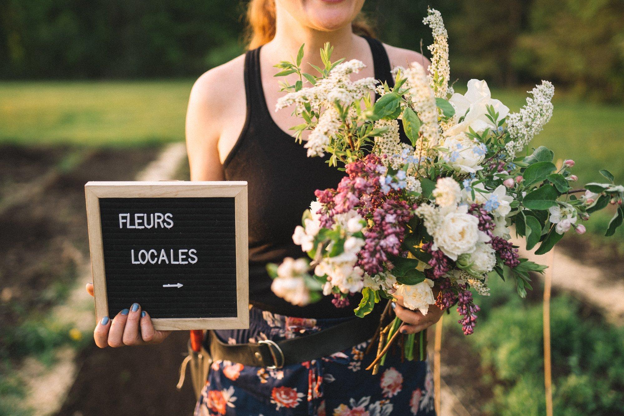 fleurs locales commande bouquets magog