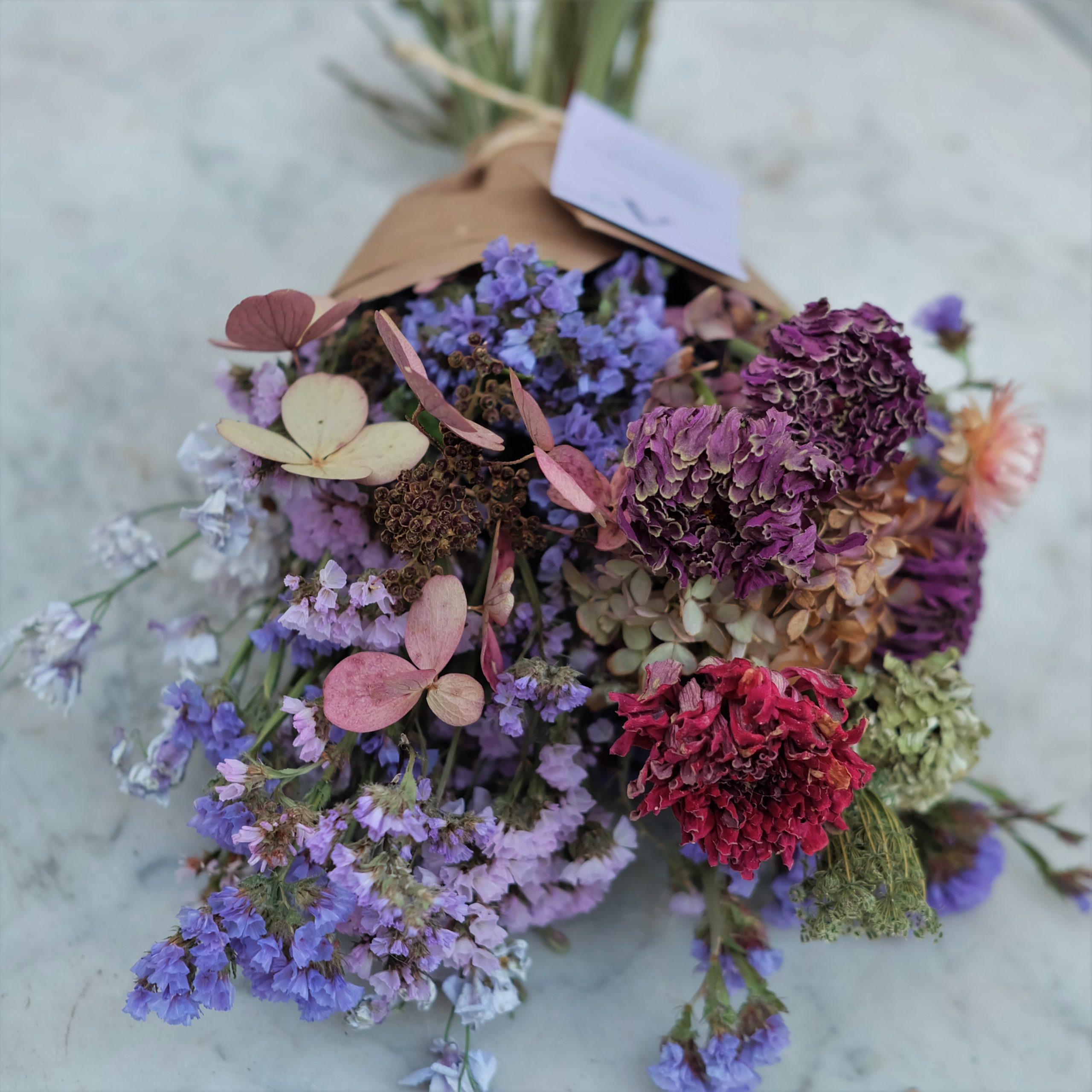 bouquet fleurs séchées magog grand format